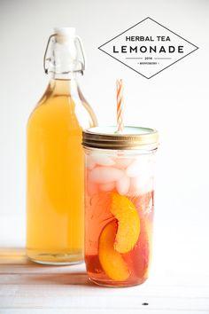Herbal tea lemonade