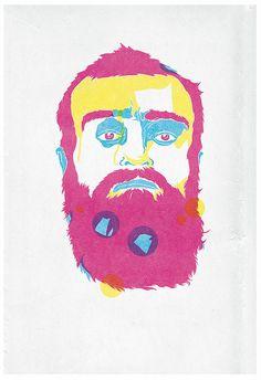 holes in the beard?