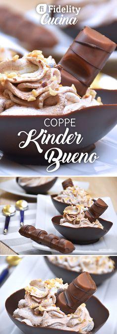 Realizzare delle coppe di cioccolato al Kinder Bueno sarà semplice e veloce, con una tecnica alternativa che utilizza un semplice palloncino ma che vi darà un risultato golosissimo