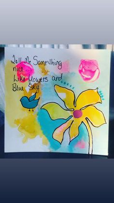 57649E23-2520-4570-A929-EB1869312221 Paint Pens, Watercolor Paper, Whimsical, Ink, Frame, Creative, Flowers, Cards, Painting