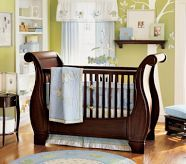 Love this sleigh bed