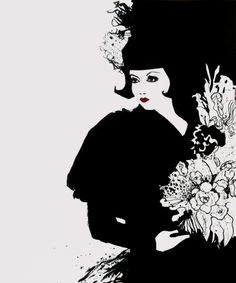 Fashion: Positive Negative Space Positive And Negative, Negative Space, Journal D'art, Disney Characters, Fictional Characters, Snow White, Illustrations, Disney Princess, Fashion