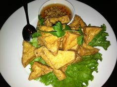 CRVE worthy - Fried tofu @ Lers Ros Thai, SF