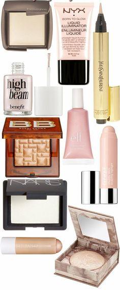 les meilleurs produits enlumineurs pour réaliser un maquillage naturel