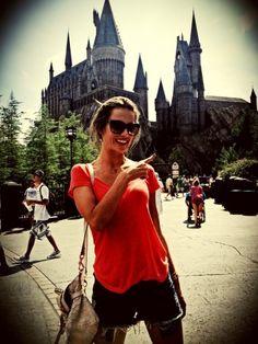Alessandra Ambrosio at Universal Island of Adventure Orlando #vacation #travel #model #universal #orlando