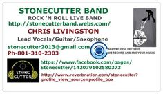 STONECUTTER BAND BUSINESS CARD