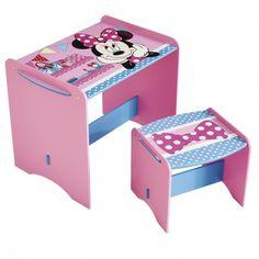 World Apart 461MIZ - PUPITRE INFANTIL DE MADERA - Minnie Mouse