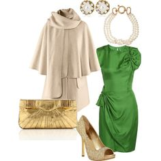 as if i had a fancy christmas party to attend. (p.s. - talk about expensive taste! this ensemble would cost over $2000.)
