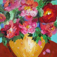 Original Painting Still Life painting oil by ElainesHeartsong