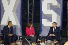 Obama Leonardo DiCaprio and scientist Katharine Hayhoe talk climate change at SXSL At an SXSL panel on Monday President Obama actor environmentalist and philanthropist Leonardo DiCaprio and scientist Katharine Hayhoediscussed climatechange and what we can possibly due to curb it.  Hayhoe who is the director of the Climate Science Center at Texas Tech University and CEO of ATMOS Research & Consulting helpsorganizations like airports andpublic water utilitiesassess the potential impacts of…