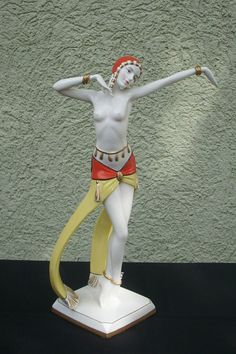 Very RARE Goebel Dancer Figurine Art Deco Goldscheider | eBay