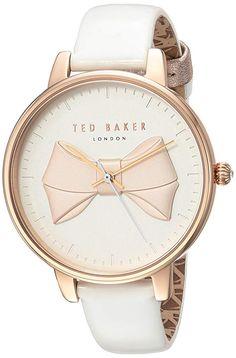 Ted Baker London horloge TEC0185005 - 105.65 - 5.0 von 5 Sternen - Damen Uhren 2019 Ted Baker Womens, Casual Watches, Quartz Watch, Michael Kors Watch, London, Stainless Steel, Model, Leather, Women Wear