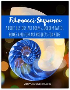 Explore Fibonacci day with STEAM activities - Fibonacci Storybooks and art projects for kids plus fun videos to learn and enjoy.