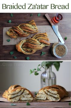 Braided Za'atar Bread Recipe -  Check out this delicious recipes on youtube:   https://www.youtube.com/watch?v=_copRdPBQX4