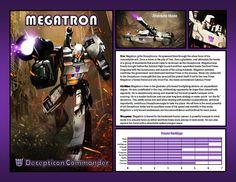 Megatron by CitizenPayne.deviantart.com on @DeviantArt