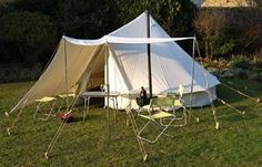 Malu awning for bell tent UKCampsite.co.uk - this looks more promising....