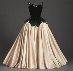 """""""Petal"""" ball gown by Charles James, 1951"""