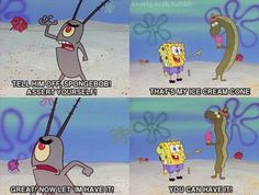 YOU GO SPONGEBOB!