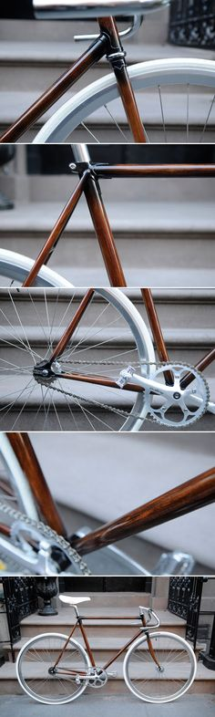 wood grain bicycle