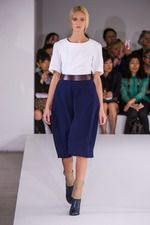 Oxblood + Navy Jil Sander Spring 2013 Ready-to-Wear Collection on Style.com: Complete Collection