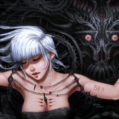 Cyborg & Surreal Fantasy Art Featuring Yee-Ling Chung
