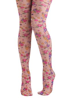 Printed tights have made their way from street fashion to the mainstream, and function as a way to add interest to an outfit in a somewhat unexpected way. This trend may mean that consumers are seeking additional details, thin fabrics (following the jeans to jeggings to tights trend), or graphic prints on new surfaces. - Jaimie B
