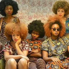 Natural Gyrl - Natural hair sistas on fleek!