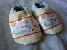 Crafty Mama: Cloth baby shoes
