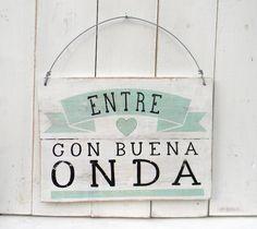 Cartel vintage | BUENA ONDA - Comprar en ONDECO