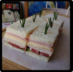 Seven Boys - Pães - Mini sanduíche de Pão de Forma