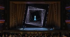 The Snow Queen, Royal Opera Copenhagen Directed by Francisco Negrin / Set design by Palle Steen Christensen / Video design by Playmodes Design Set, Theatre Design, Snow Queen, Copenhagen, Opera, Home Decor, Decoration Home, Opera House, Room Decor