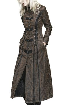 This is pinned from Italian Amazon.com...apparently PUNK RAVE is acategory of style that you can find in the U.S. instance of Amazon as well! Restyle Steampunk Coat