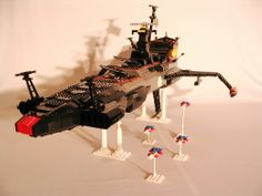 Atlantis - Arcadia - Death Shadow (Albator (Harlock)): A LEGO® creation by Philippe Moisan : MOCpages.com