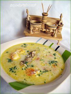 Bucataresele Vesele-retete culinare,retete ilustrate: Supa de Zdrente - Supa de oua - Tojas leves