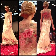 Claire Pettibone 'A Heart's Desire' feat. on City Girl Loves Weddings 'NY Bridal Market: Claire Pettibone 2014 RunwayShow #StillLife'