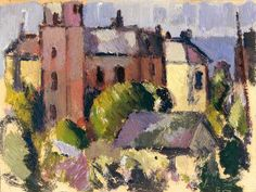 John Duncan Fergusson - House with Tower
