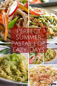 When the days heat up, the last thing anybody wants to do is spend time slaving over a hot stove. We've thrown together some of our favourite fast and quickly-made pasta recipes, some served hot and others cold! | YMCFood | YummyMummyClub.ca