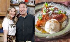Lisa Faulkner and John Torode delighted fans with their Easter dessert tutorial, which was a five-ingredient Tarte Tartin. See the easy recipe. Apple Desserts, Delicious Desserts, Lisa Faulkner, Baked Banana, Banana Bread, Five Ingredients, Easter Recipes, Great Recipes, Cake Recipes