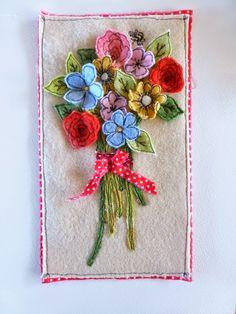 fiber art by Sweet Birdy Love