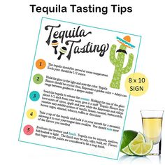 lowest price 1d9b1 ed654 Tequila Tasting - Tequila Party - Tequila Rating - Tequila Score Card - Cinco  De Mayo - Tacos and T
