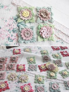 The Linen Garden by Vicky Trainor ~ Vintage Haberdashery