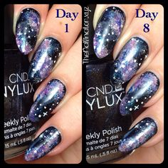 The Nailinator - CND Midnight Swim Wear Comparison Cnd Vinylux, My Nails, Nail Polish, Swim, Nail Art, Day, Ongles, Bathing, Swimming