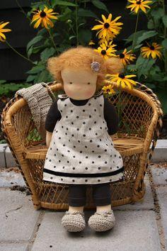 Waldorf Puppe rotes Haar