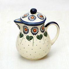 Polish pottery - teapot or coffee pot
