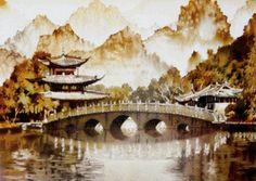 Схема вышивки «китайская живопись» - Схемы вышивки - Oksi1211 - Авторы - Портал «Вышивка крестом»