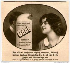 Original-Werbung/Inserat/ Anzeige 1914 - ODOL - ca. 135 X 130 mm