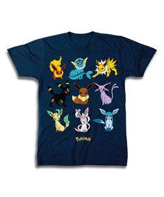 964fff8b This Pokémon Navy Eevee Evolutions Tee - Men's Regular & Big is  perfect! #
