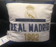 Carbotex Vankúš Real Madrid 2, 40x40cm Real Madrid, Bags, Color, Handbags, Taschen, Purse, Colour, Purses, Bag