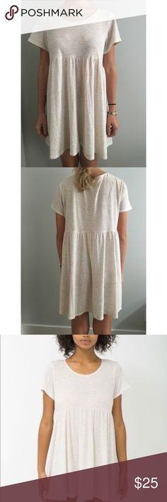 American Apparel Babydoll dress Comfy & casual dress, perfect for everyday. Worn once, like new. American Apparel Dresses Mini