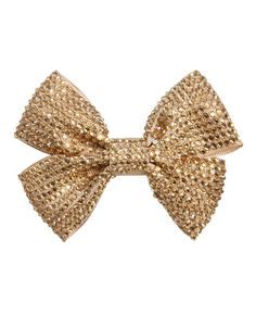 Rhinestone Bow Hair Clip - Teen Clothing by Wet Seal